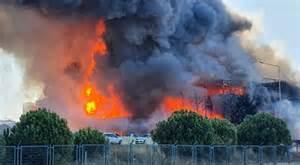 Tuzla'da Yangın..