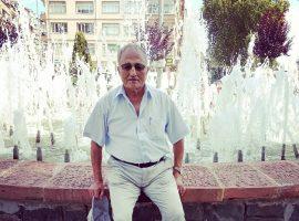 Celal Öztürk hocamızı kaybettik