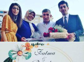 Fatma ve Burak'ın düğününe davetlisiniz