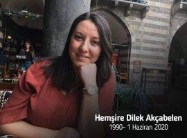 Sağlıkçı kızımız Dilek Hemşire vefat etti