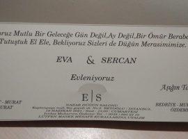 Sercan'ın düğününe davetlisiniz